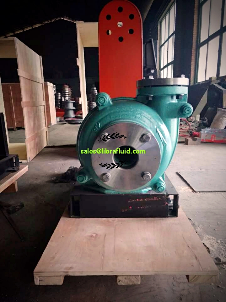 small slurry pump in high chrome material