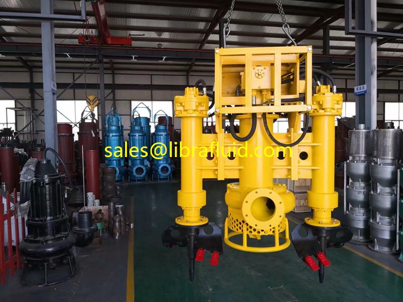 Hydraulic slurry pump