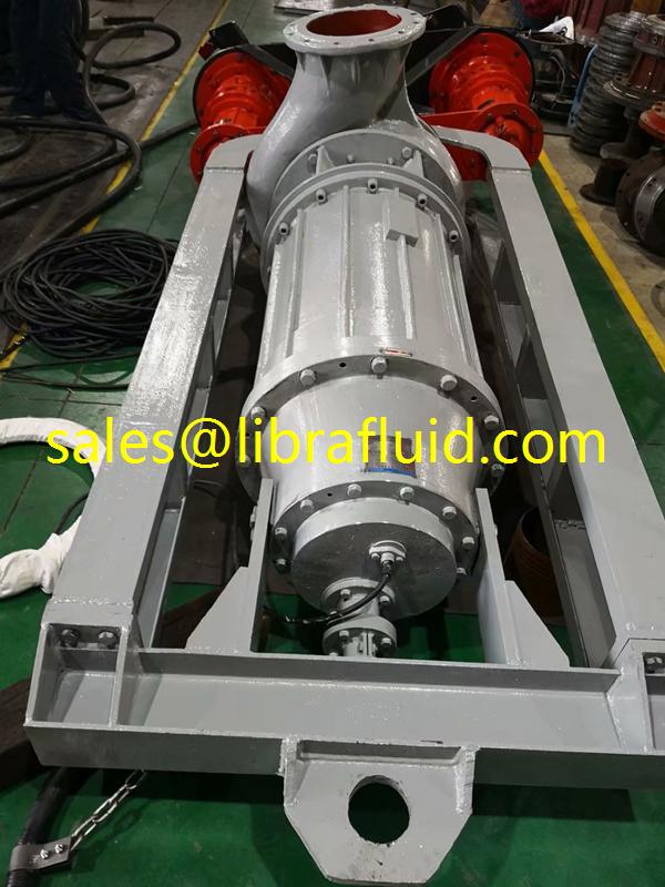 Submersible slurry pump