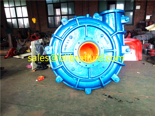 Heavy duty copper ore dressing slurry pump