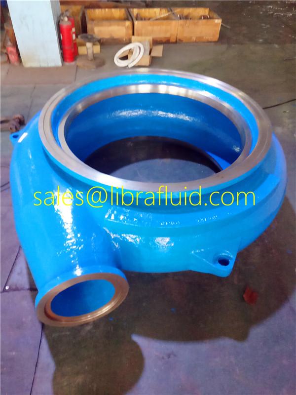High Flow Horizontal Filter Press Feeding Pump liner