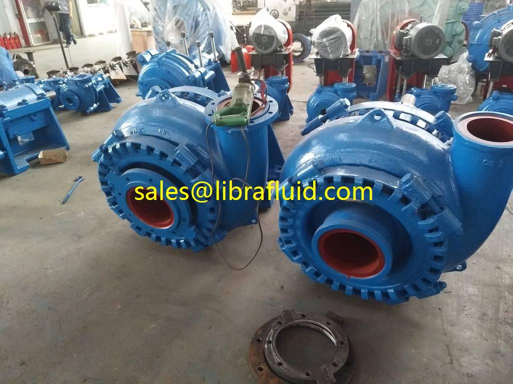 8x6E-S horizontal slurry pump