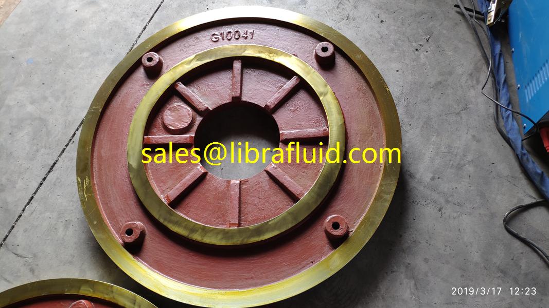 12/10 ST-AH Slurry Pump  frame plate liner insert