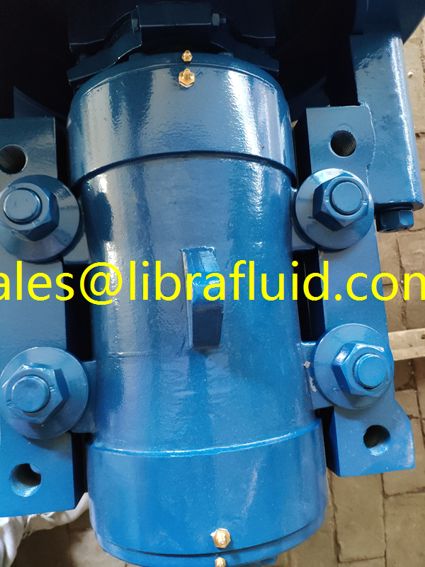 Grease lubrication bearing assembly slurry pump