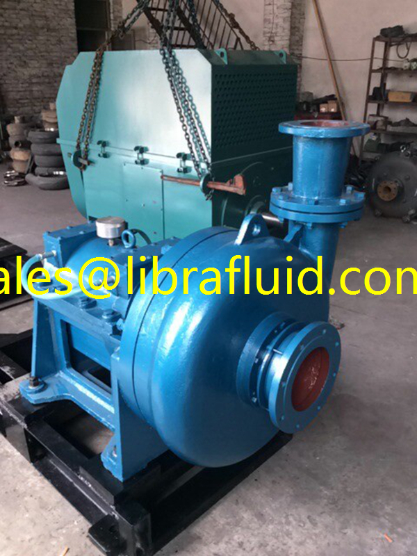 Primary hydrocyclone feed tank pump