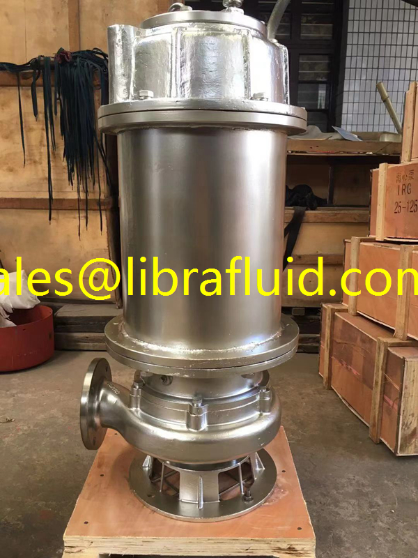SS316L Submersible sewage Pump