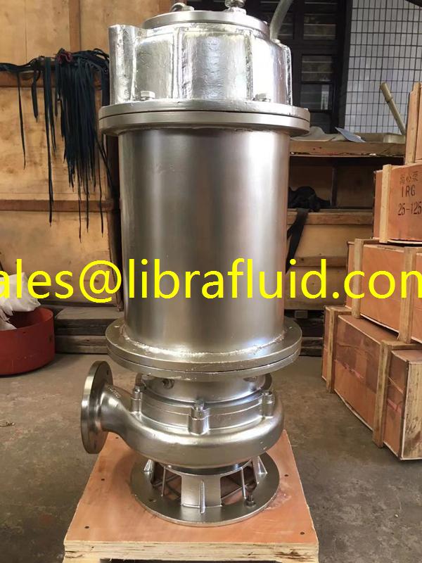 SS316L Submersible sewage Pump