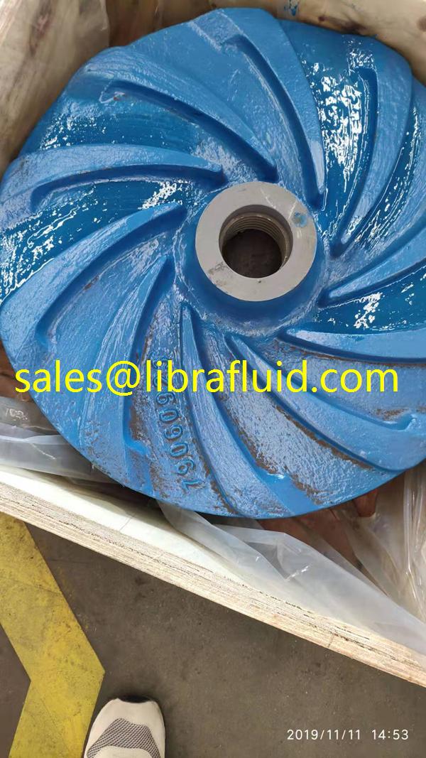 10/8E-M slurry pump impeller