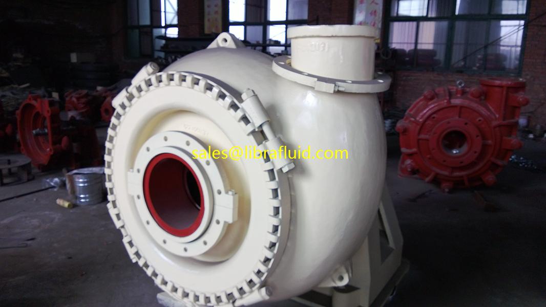 4 inch big solid handling dredge slurry pump