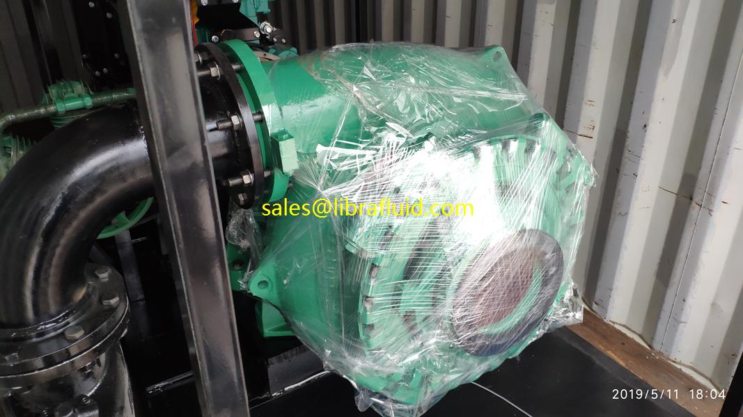 6inch Cummins diesel engine driven dewatering pump