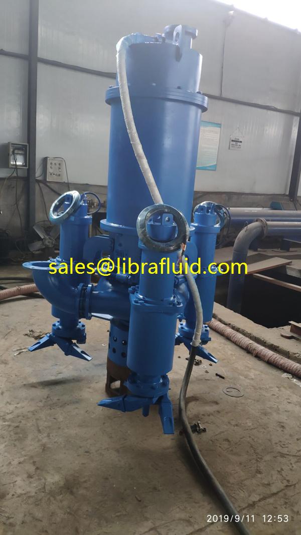 Toughest Submersible agitator slurry pump