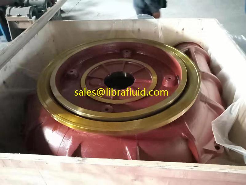 High chrome alloy sand gravel pump casing of 1210G-G pump