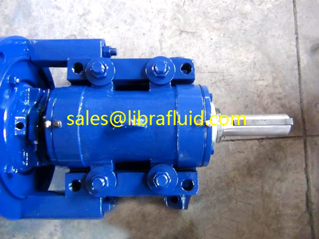 2inch rubber lined slurry pump