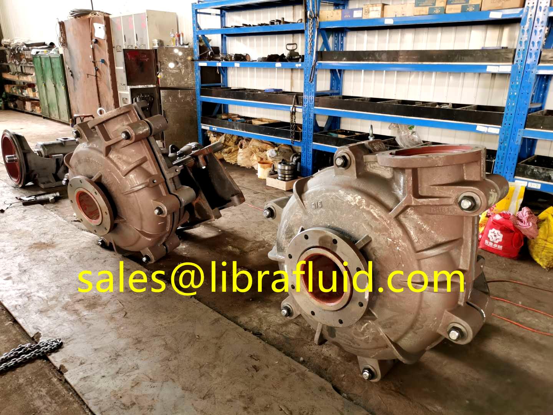 8x6 model 6inch slurry pump