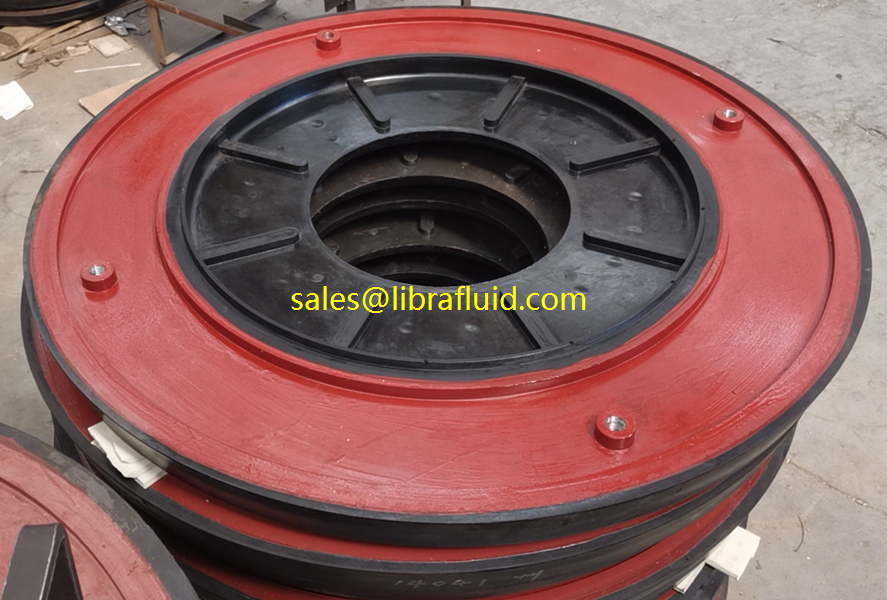 16x14TU-AHR RUBBER SLURRY PUMP PARTS