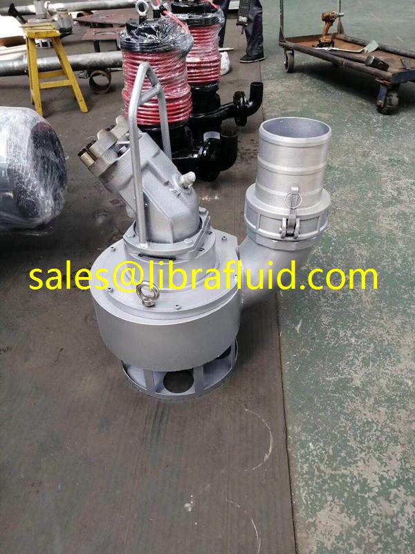 hydraulic submersible slurry pump