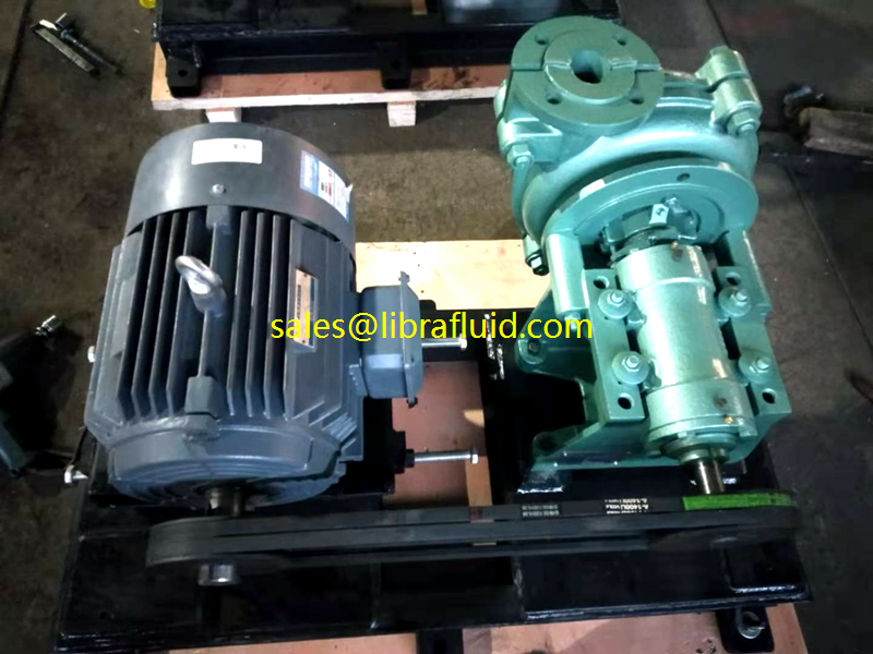 1.5inch discharge size Small slurry pump