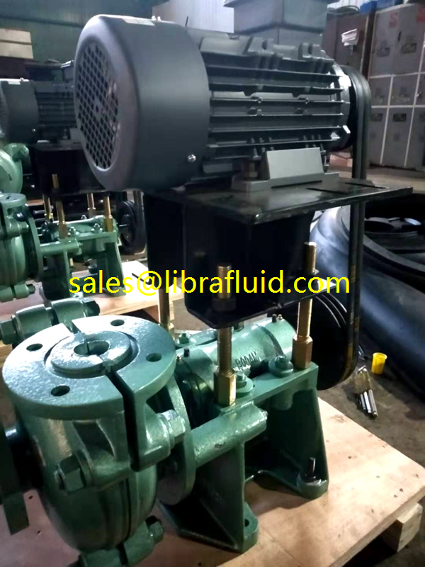 1inch rubber slurry pump