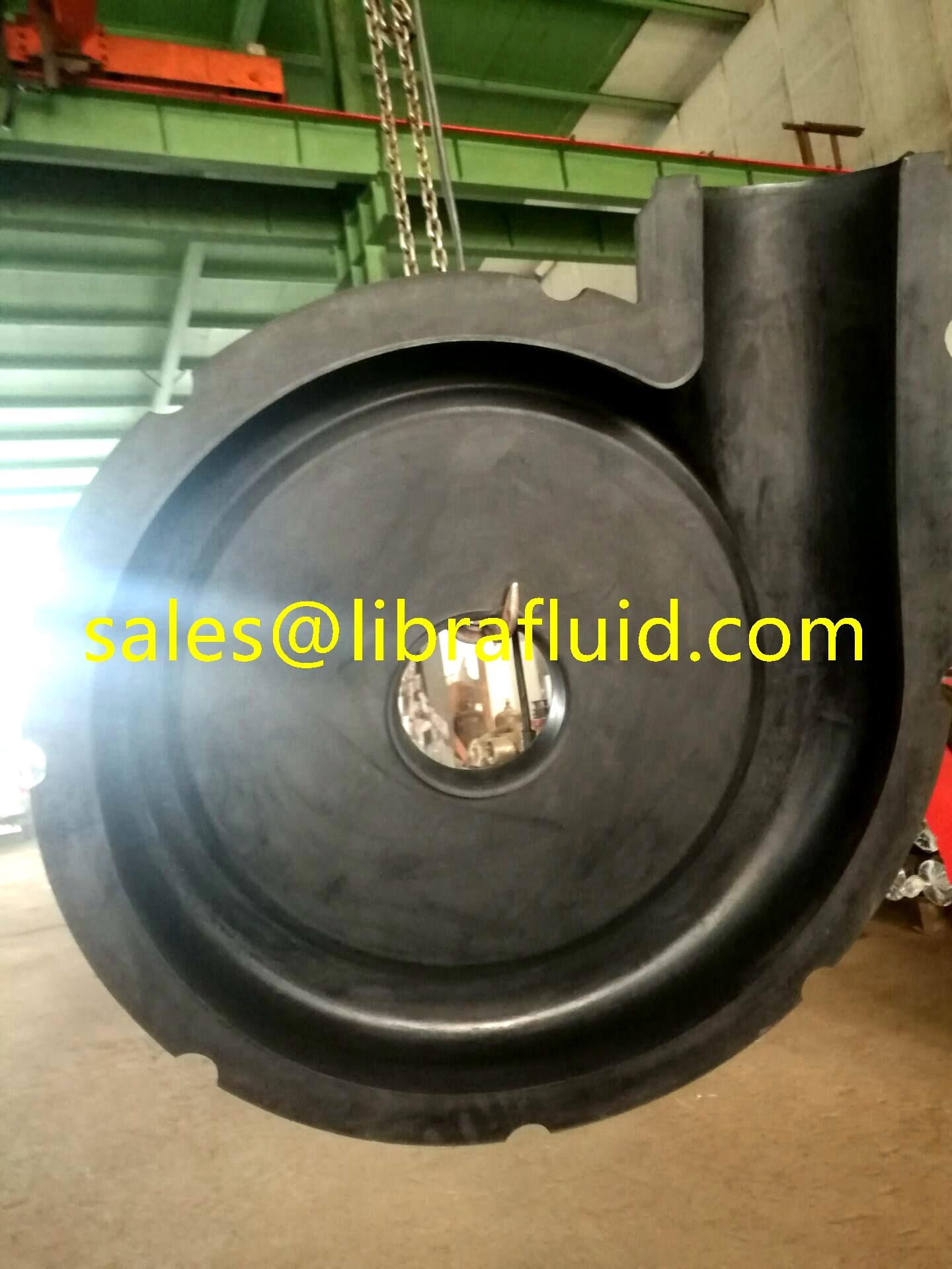 10x8E M rubber slurry pump frame plate liner