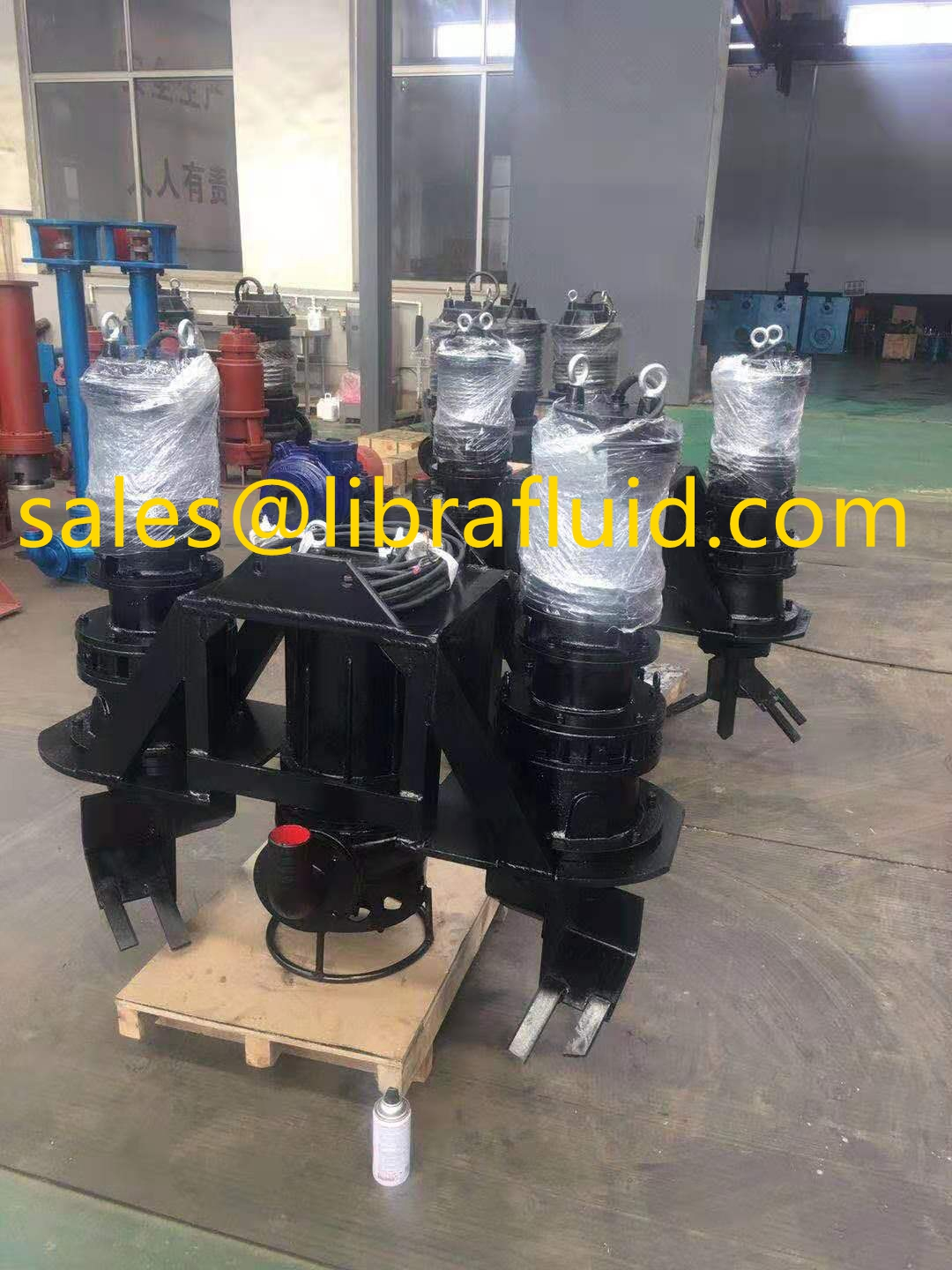 7.5kw submersible slurry pump