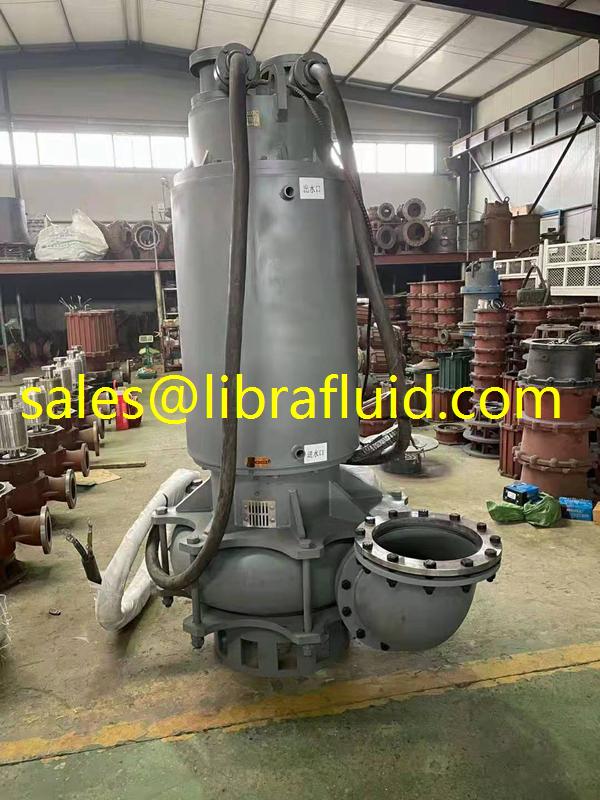 260kw submersible sand dredge pump