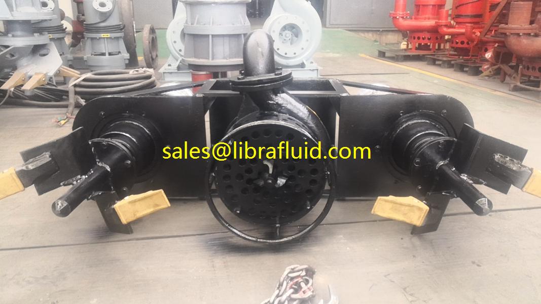 4inch submersible slurry pump with agitators