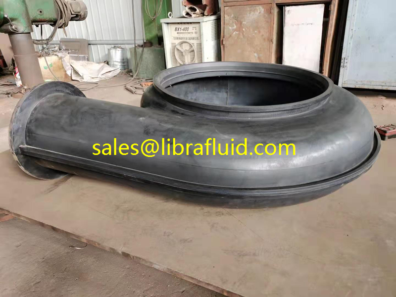HR 250 slurry pump Natural rubber liner