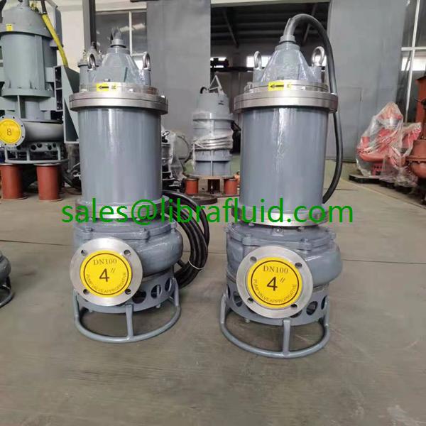 15KW submersible slurry pump