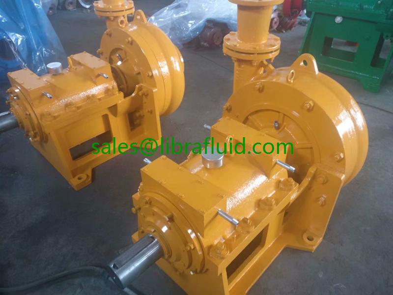High head mine dewatering pump