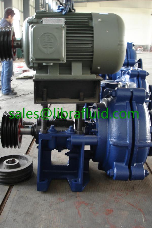 Industrial iron ore slag slurry pump