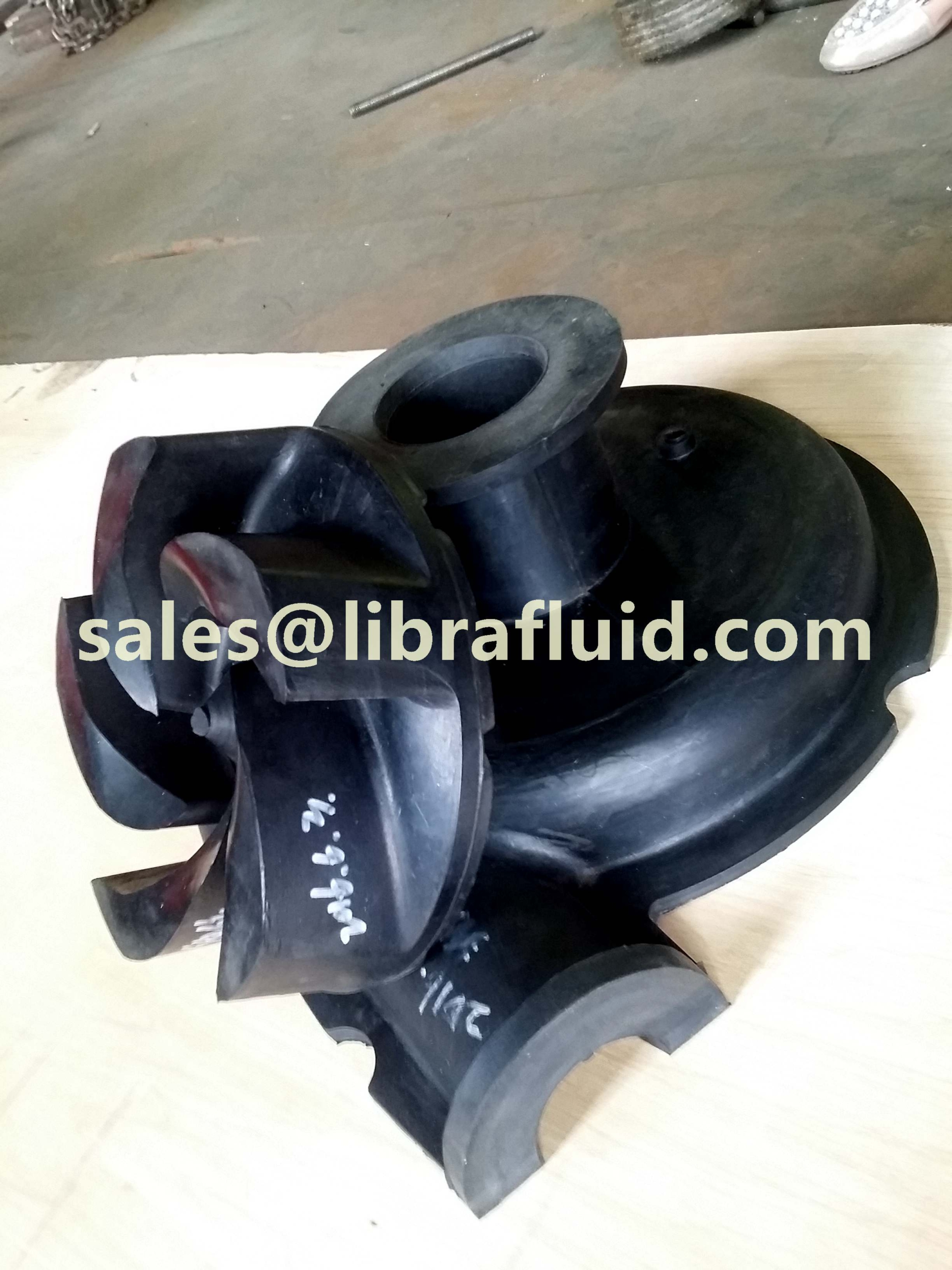 3x2 slurry pump impeller and liner
